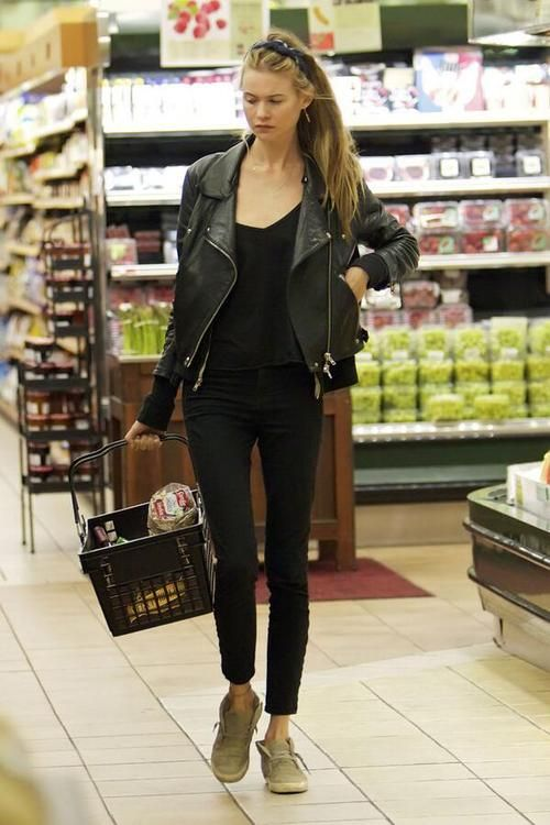Behati Prinsloo I need a jacket like this