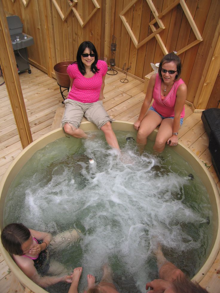 22 best cedar hot tub fun images on pinterest bubble. Black Bedroom Furniture Sets. Home Design Ideas