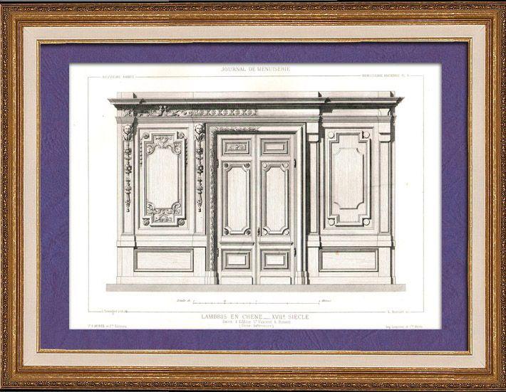 56 best lambris la fran aise xvii s images on pinterest panelling versailles and louis xiv. Black Bedroom Furniture Sets. Home Design Ideas