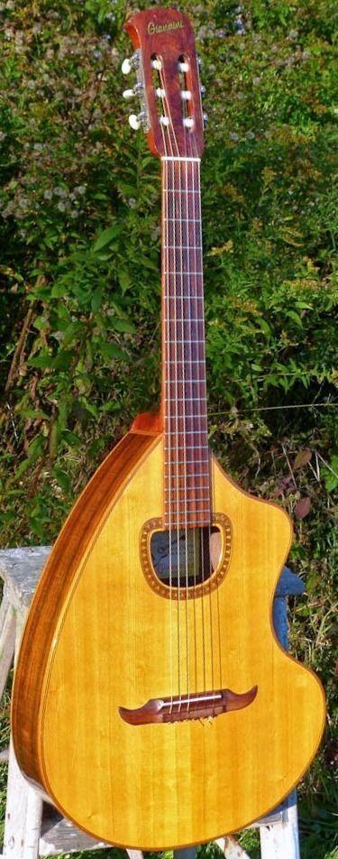 frettedchordophones: 1970 Giannini Craviola =Lardys Chordophone of the day - a year ago --- https://www.pinterest.com/lardyfatboy/