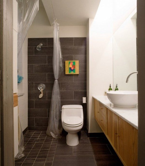 small bathroom ideas wet room design shower curtain vanity cabinet vessel sink