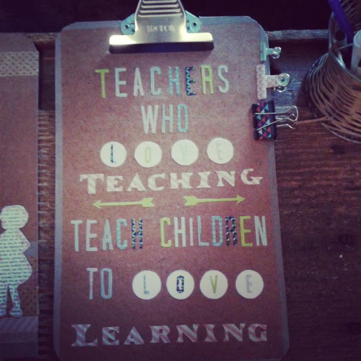 Teachers Gifts - Handmade! Let it mean something. Let it be useful.