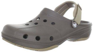 crocs Men's 10376 Ace Boating Clog,Chocolate/Khaki,8 M US crocs. $39.99