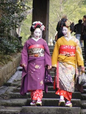 Golden Week in Japan is Going to Get Busy!: A common sight during Golden Week in Kyoto, Japan.