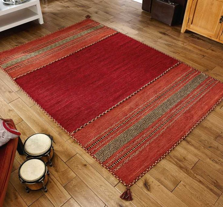 Kilim Red Traditional Rugs | Modern Rugs