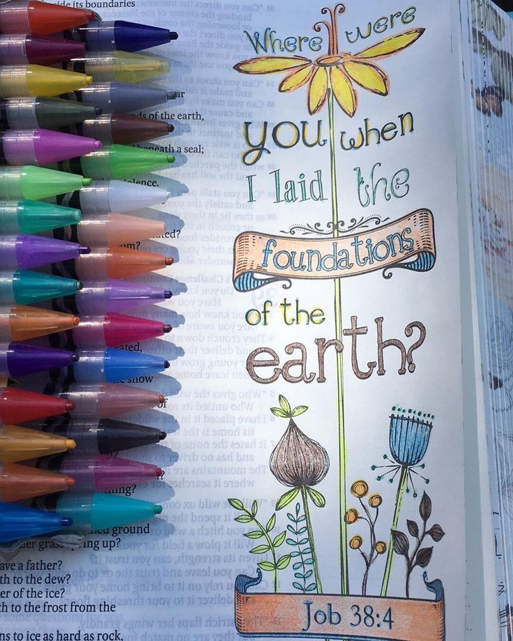 Love Bible journaling #biblejournaling #readyourbible #coloryourbible… | Bible…