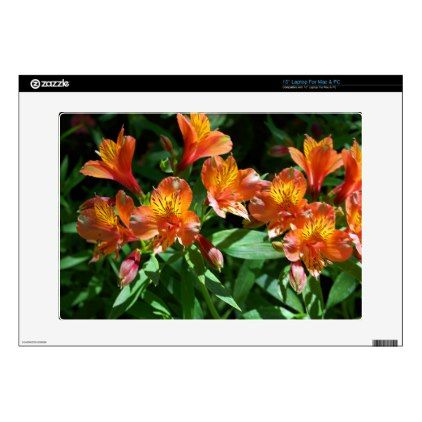 """Alstromeria Skin For 15"""" Laptop - photography gifts diy custom unique special"""