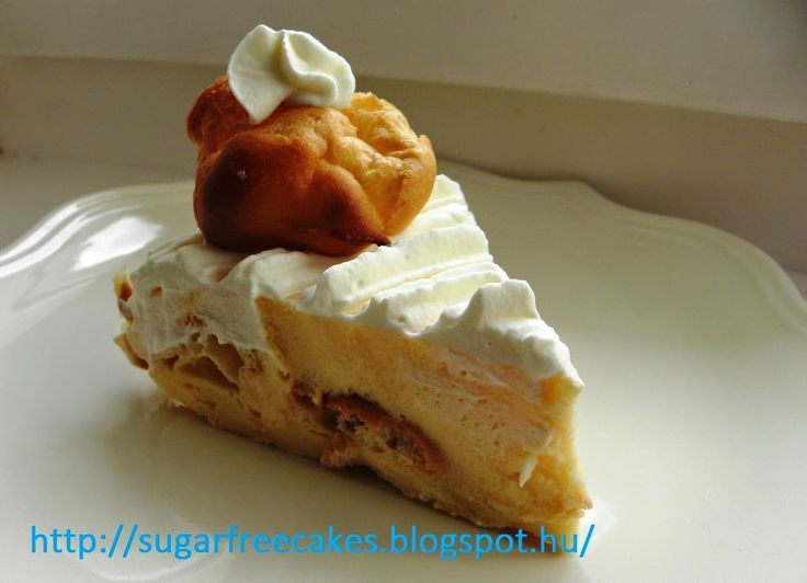 Diabetic St Honoré cake