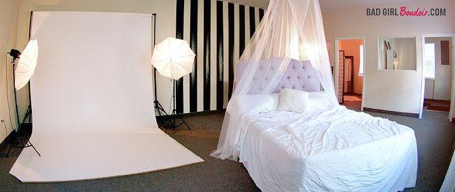 Boudoir Studio Setup Florida Photography By Bad Girl