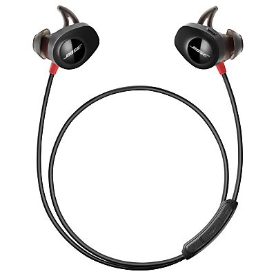 Bose®️️ SoundSport™️ Pulse Sweat & Weather-Resistant Wireless In-Ear Headphones with Heart Rate Sensor, Bluetooth/NFC, 3-Button In-Line Remote & Carry Case, Red/Black http://www.coolenews.com/?p=14960