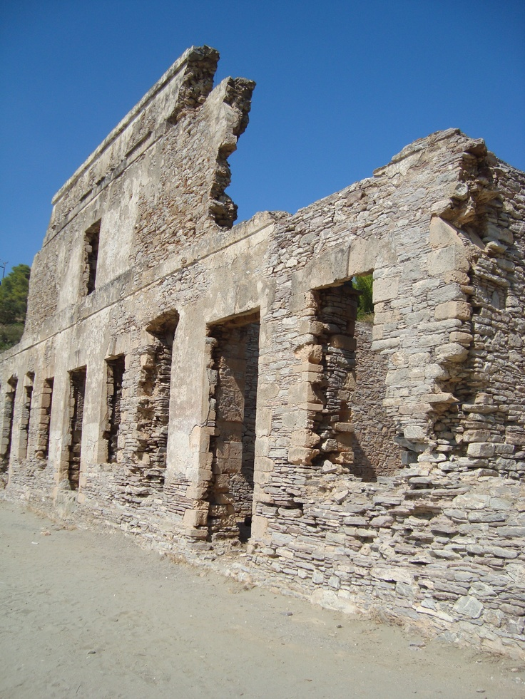 Russia Cove - Poros - Greece, where Russian prisoner's of war were interred. - Pauline Norris.