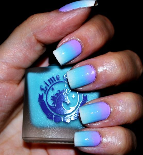 Two Tone Nail Polish Fade: 25+ Best Ideas About Faded Nails On Pinterest