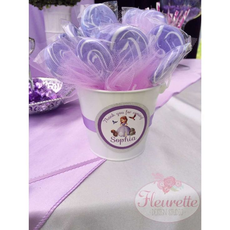 304 best sofia the first party ideas images on pinterest princess pretty purple sofia the first birthday party lollipops see more party ideas at catchmyparty solutioingenieria Image collections