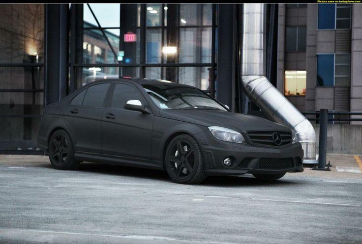 Matte Black Mercedes Benz >> Mercedes Benz C63 AMG Matte Black | Toys | Pinterest | Mercedes Benz, Matte black and Black