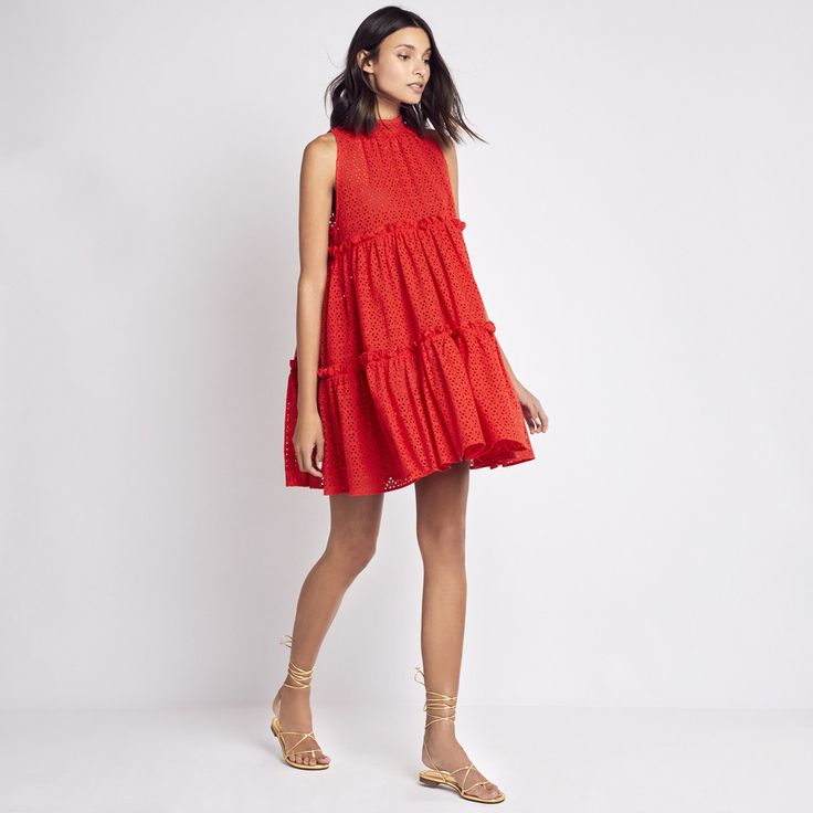 Lisa Marie Fernandez | Mini Ruffle Tier Dress