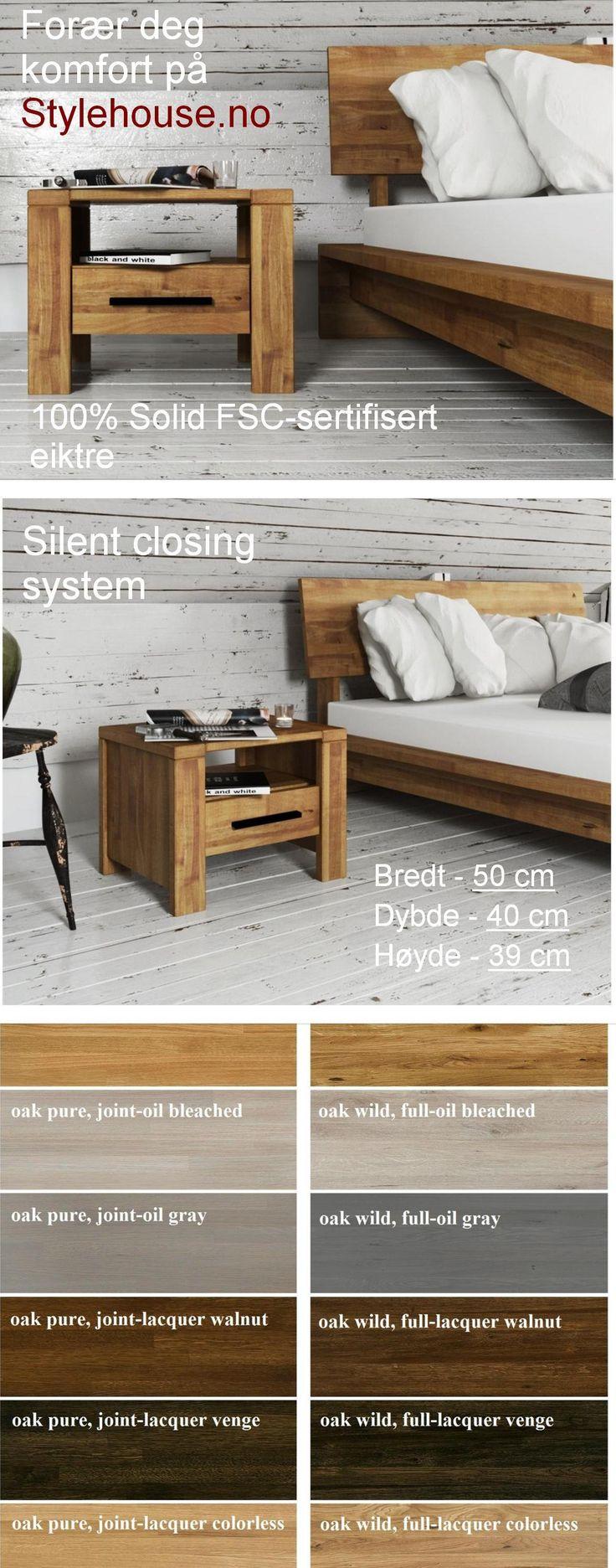 #nattbord #heltrenattbord #EUmøbler #FSCmøbler #FSC-sertifisert