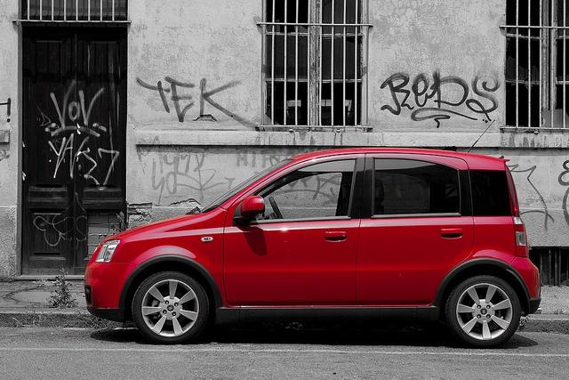 Fiat Panda 100HP by orlando72, via Flickr