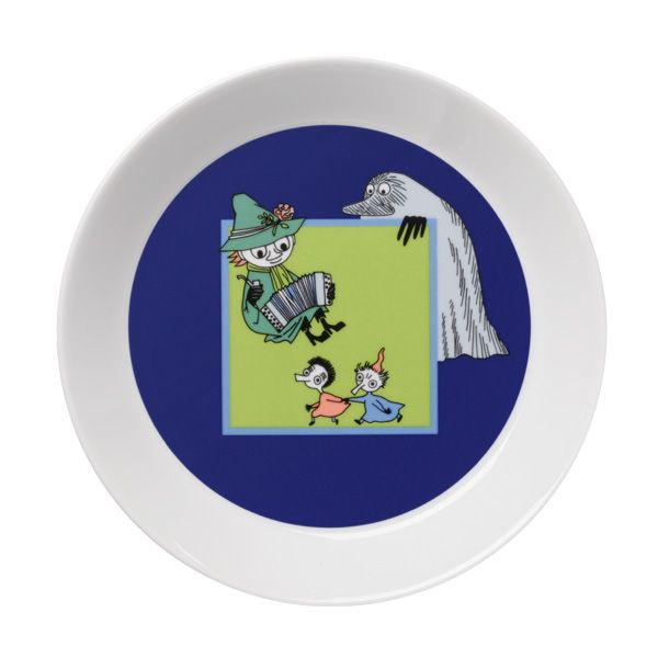 Spring melody Moomin plate.