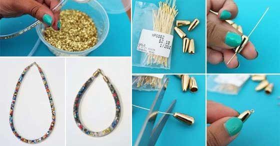 Premeňte akváriovú hadičku na krásny náhrdeľník - Dobré rady a nápady