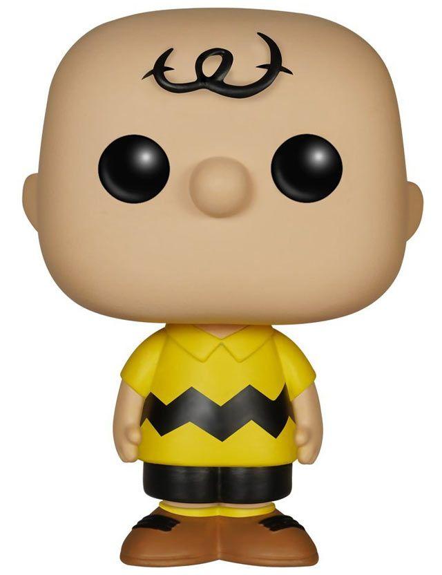 Funko Pop! - Charlie Brown  Funko Pop! Peanuts, collezionali tutti! Realizzate in PVC (Vinile), queste miniature sono resistenti e curate nei minimi dettagli. Una versione stilizzata – e ironica – dei tuoi personaggi preferiti: film, cartoni animati, libri, fumetti, programmi televisivi e molto altro! Un oggetto da collezione moderno e simpatico, dallo stile inconfondibile.