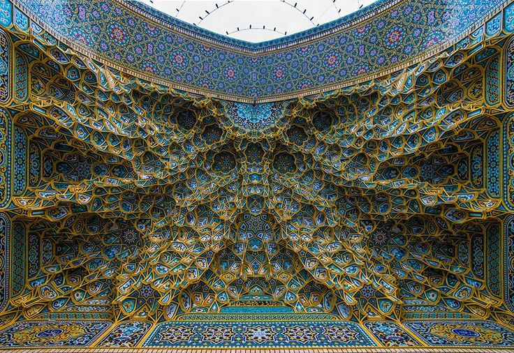 20+ Mesmerizing Mosque Ceilings That Highlight The Wonders Of Islamic Architecture