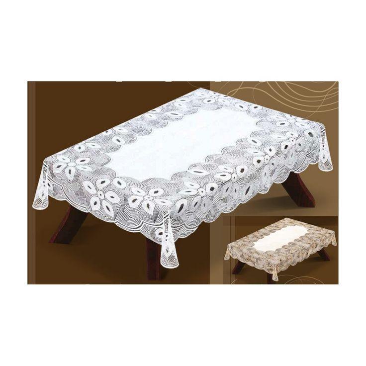 Obrus z żakardu 4O/219 Ładny  #obrus_żakardowy  w kolorze białym lub kremowym ze złotem. Dostępny w dwóch opcjach: prostokątny lub owalny. Jest bardzo elegancki, pięknie prezentuje się na każdym stole.  Wymiary: - 130x180cm - 35,50 zł - 140x250cm - 48,63 zł  Przy składaniu zamówienia proszę podać kolor i kształt. kasandra.com.pl