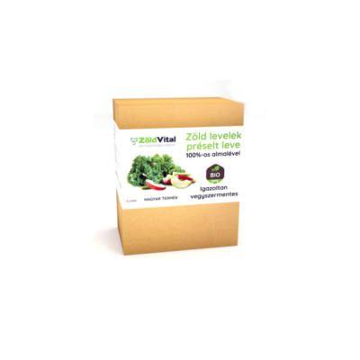 A növények levele tartalmazza a legtöbb tápanyagot, amire csak szükséged lehet. Ez a zöld ital, frissen préselt zöld levelekből készült, hozzáadott 100%-os préselt almalével. Igazoltan vegyszermentes, 100% bio, magyar termék.