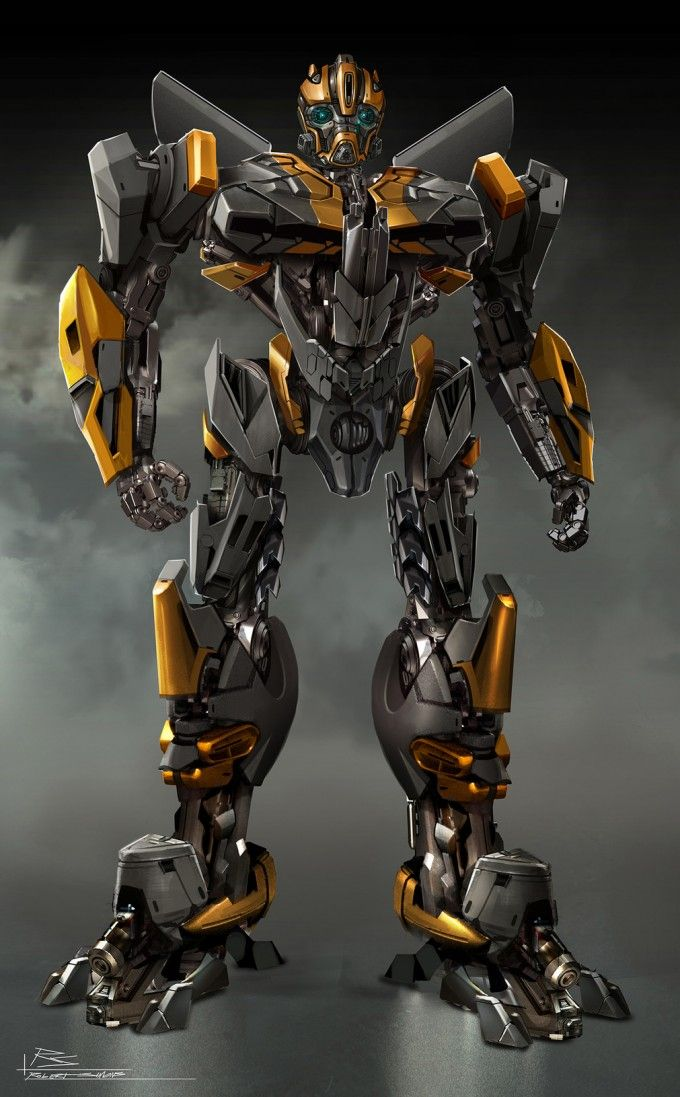 Transformers Age Of Extinction Bumblebee Concept Art