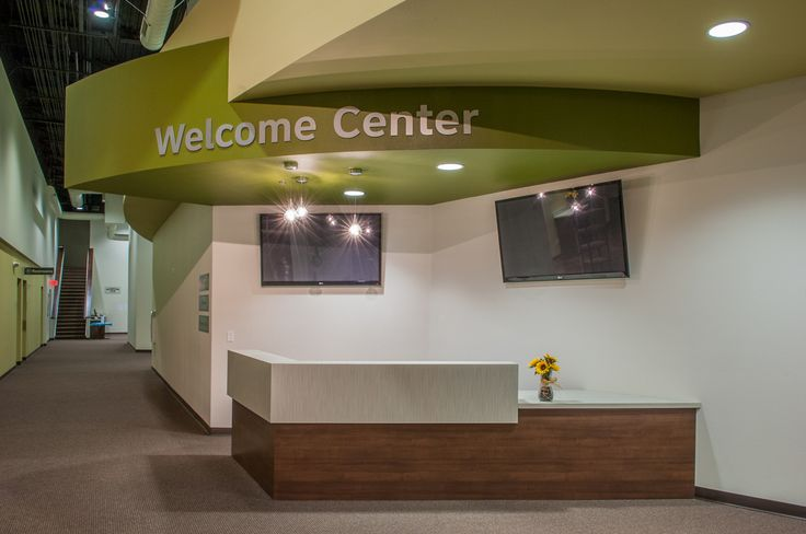 welcome center at church - Google Search