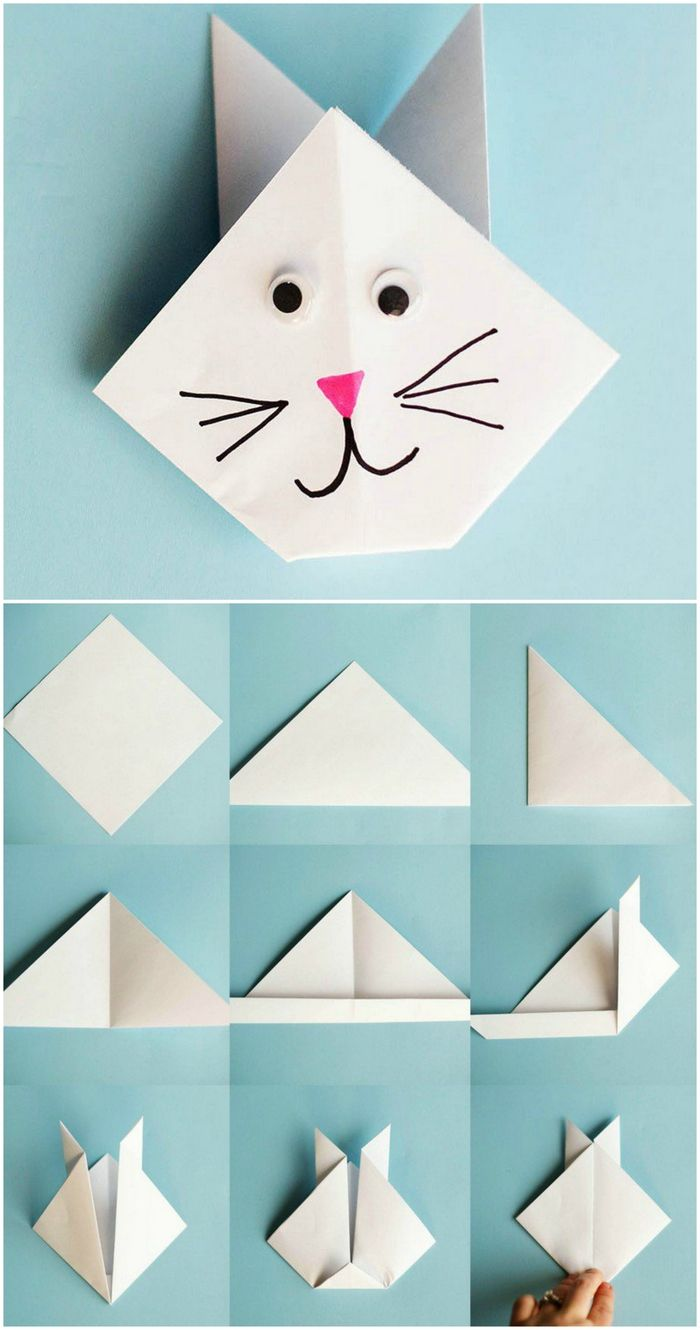les 25 meilleures id es de la cat gorie chat en origami sur pinterest origami origamis diy et. Black Bedroom Furniture Sets. Home Design Ideas