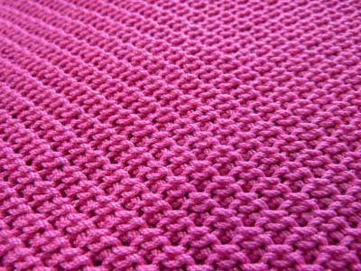 Faux Seed Stitch on the Machine - Knit it Now