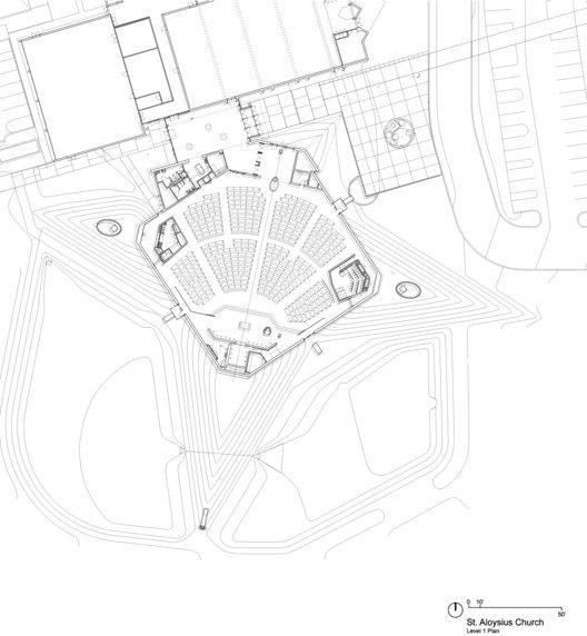 The Church of St. Aloysius,Plan 1