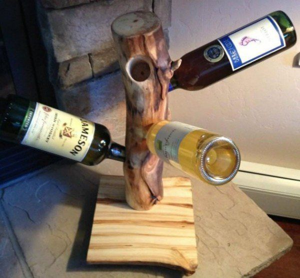 20 best aspen log diy ideas images on pinterest projects for Wine bottle material