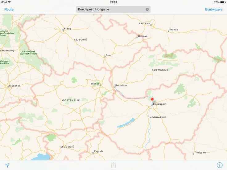 Berlijn - Praag - Bratislava - Boedapest - Zagreb - Wenen - München