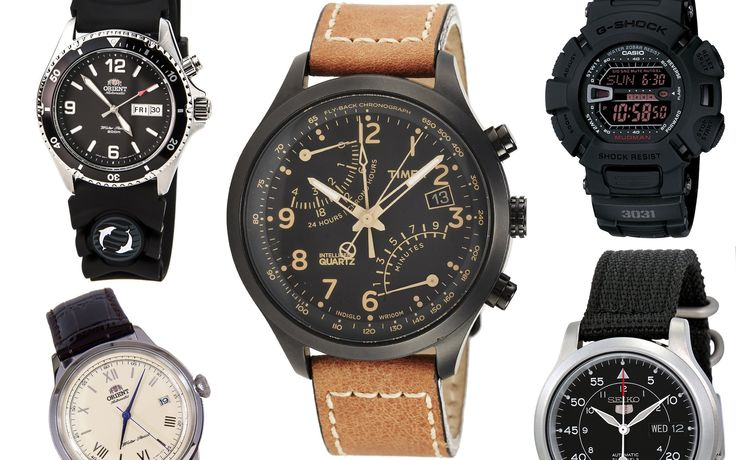 The Best Top 5 Super Affordable Watches Under Or Around $100 - Orient, S...