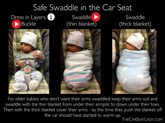 Safe Swaddle In The Car Seat By Lady If Only I Had A Baby To Wahhhhh