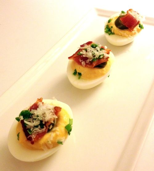 Park Tavern's Jalapeno Bacon Deviled Eggs