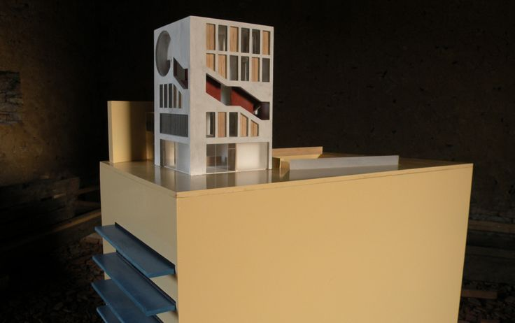 MODEL TEATRE IN OSTRAVA FOR B. STRATIL