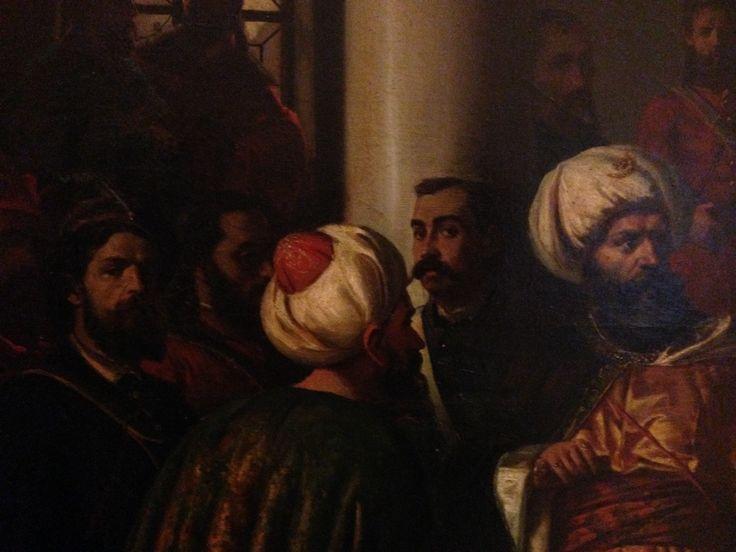 Aman, selfie with Ottomans.
