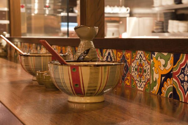 Design Ideas Mexican Inspiration at a Sydney restaurant.  Tiles from Old World Tiles.