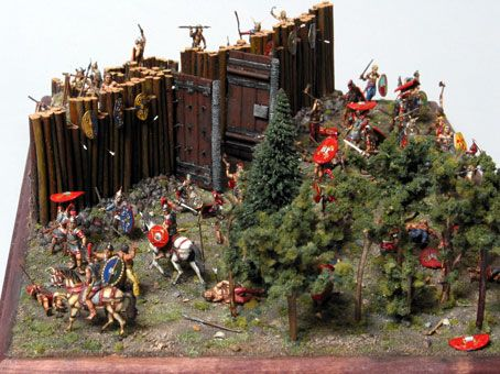 1 72nd Scale Roman Diorama By An Unknown Modeler Using