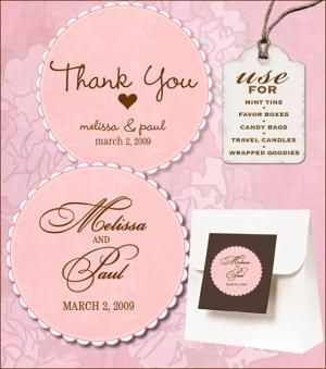 Free Wedding Labels for the Bride: Sweet Retro Free Wedding Label Templates from Wedding Chicks