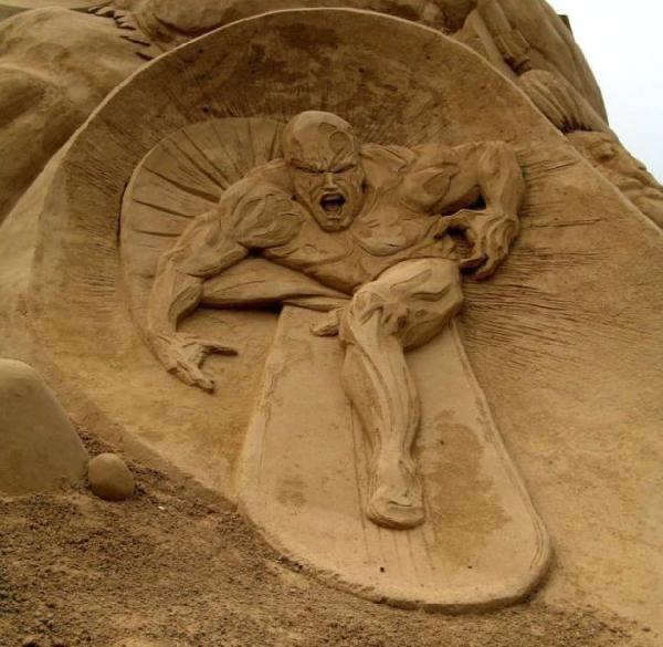 Rzeźby z piasku