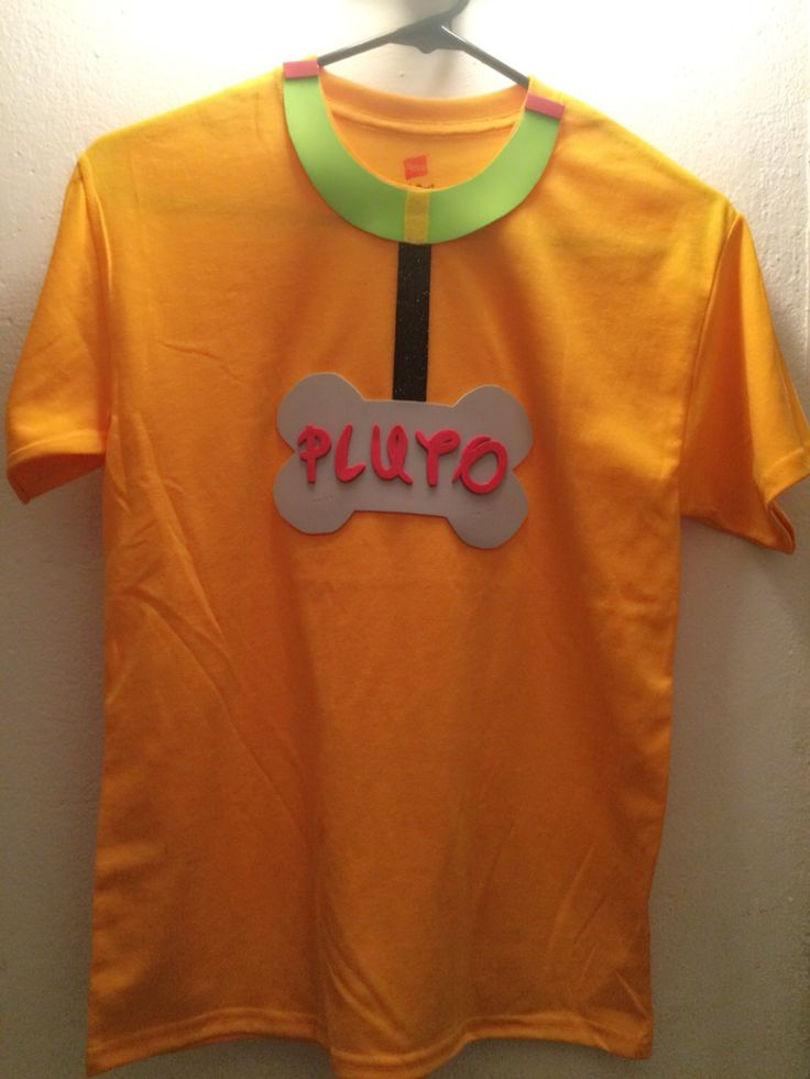 Pluto's Tshirt! So easy & less than $5 #FieldDay #Handmade #Pluto #Disney #Costume