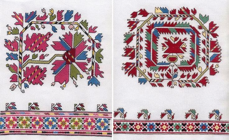 Bulgarian embroidery pattern - orginal ✳