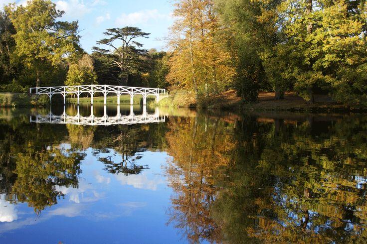 Painshill Park in Cobham, Surrey, England