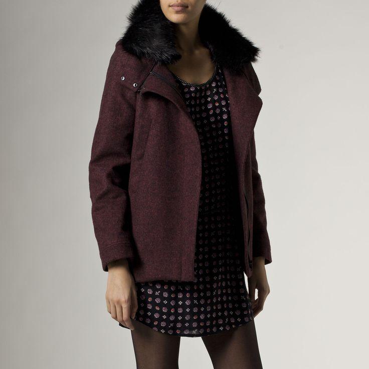 Manteau femme IKKS (QE44024)   Vêtement ICode Hiver 14