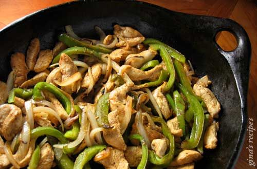 how to cook chicken fajitas on george foreman grill