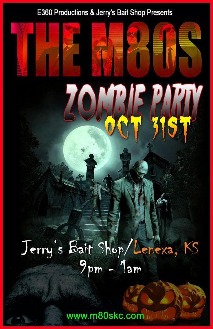 Halloween   80s Party   Kansas City   M80s   Jerrys   Zombie Party   Live Music