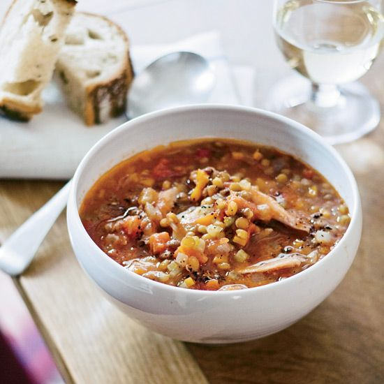 Lentil Soup With Smoked Turkey Recipe The Cheese